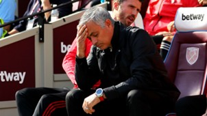Jose Mourinho Manchester United West Ham 290918