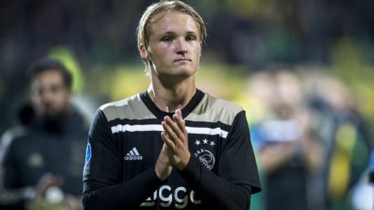Kasper Dolberg Ajax Eredivisie 09292018