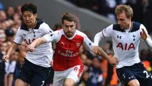 Heung-min Son Christian Eriksen Tottenham Aaron Ramsey Arsenal