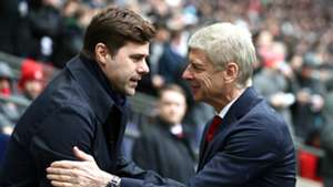 Mauricio Pochettino Arsene Wenger Tottenham Arsenal