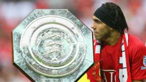 Carlos Tevez Community Shield Manchester United