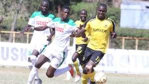 Tusker v Mathare United.