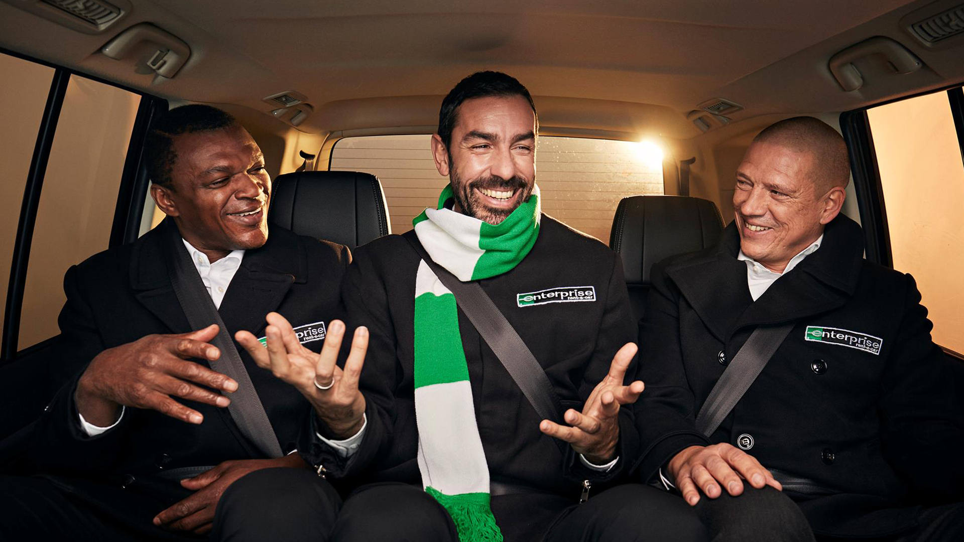 Marcel Desailly - Robert Pires -  Enterprise - Commercial image