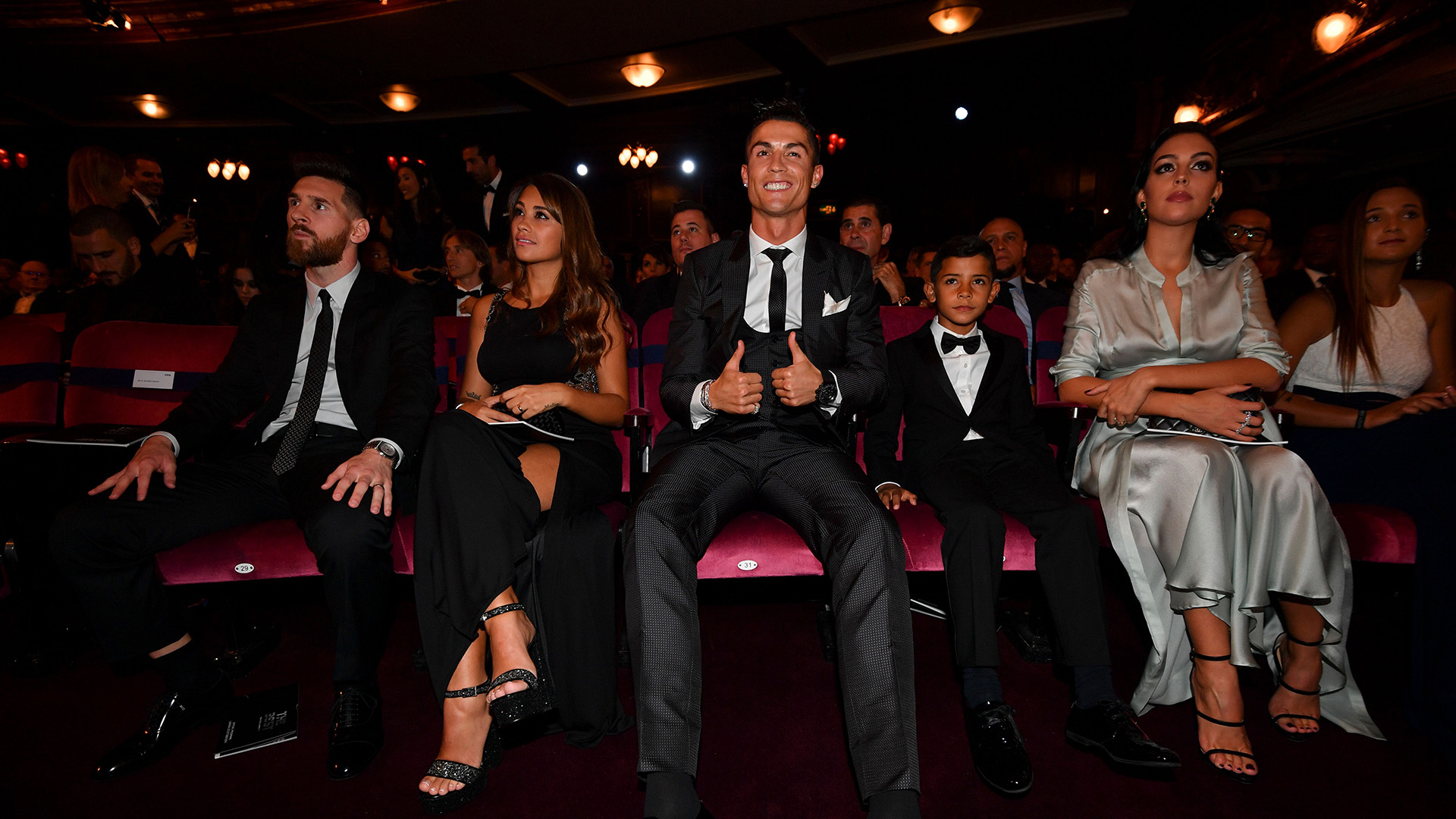 Cristiano Ronaldo, Lionel Messi and Co.