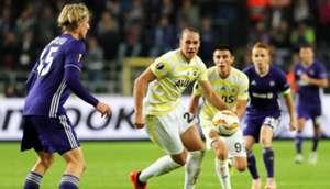 Michael Frey Anderlecht Fenerbahce UEFA Europa League 10/25/18