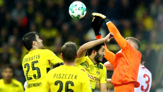 Sokratis Nuri Sahin Timo Horn Borussia Dortmund 1 FC Koln