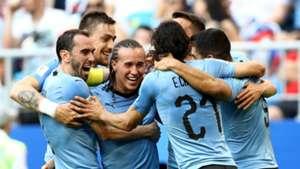Uruguay players vs Russia World Cup 2018