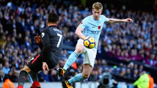 Manchester City Arsenal De Bruyne Alexis Sanchez 05112017