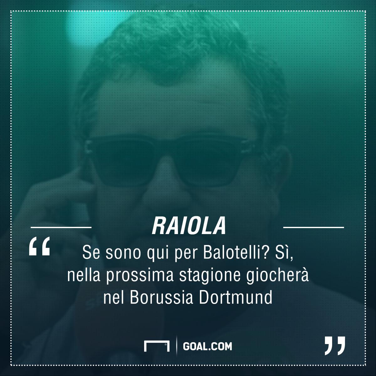 Raiola Balotelli Borussia Dortmund PS