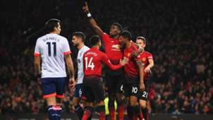 Manchester United Bournemouth Paul Pogba 30122018