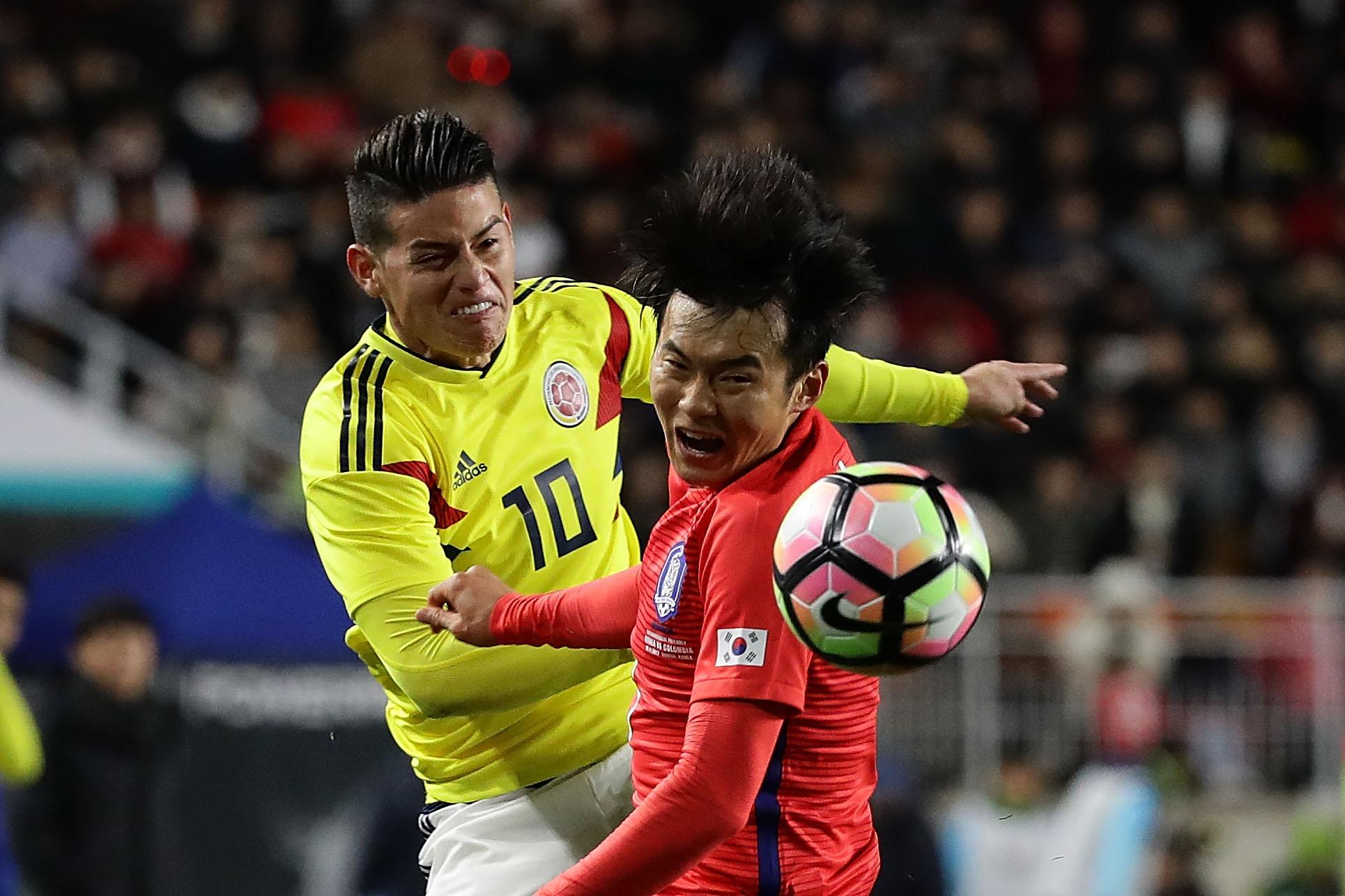 James Colombia Corea
