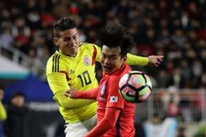 James Colombia Corea