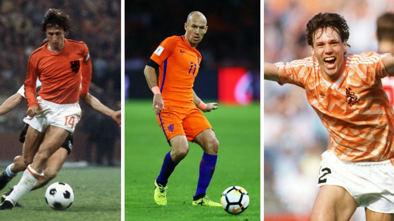 Arjen Robben a Dutch legend like Cruyff and Van Basten says new