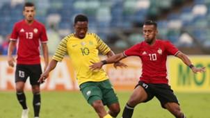 Sibusiso Vilakazi Bafana Bafana v Libya, September 2018
