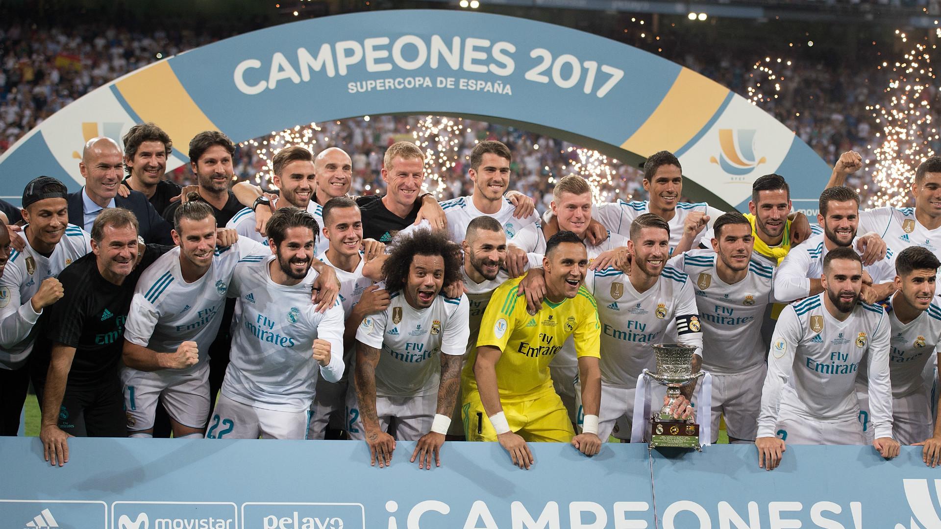 Real Madrid Supercopa de Espana