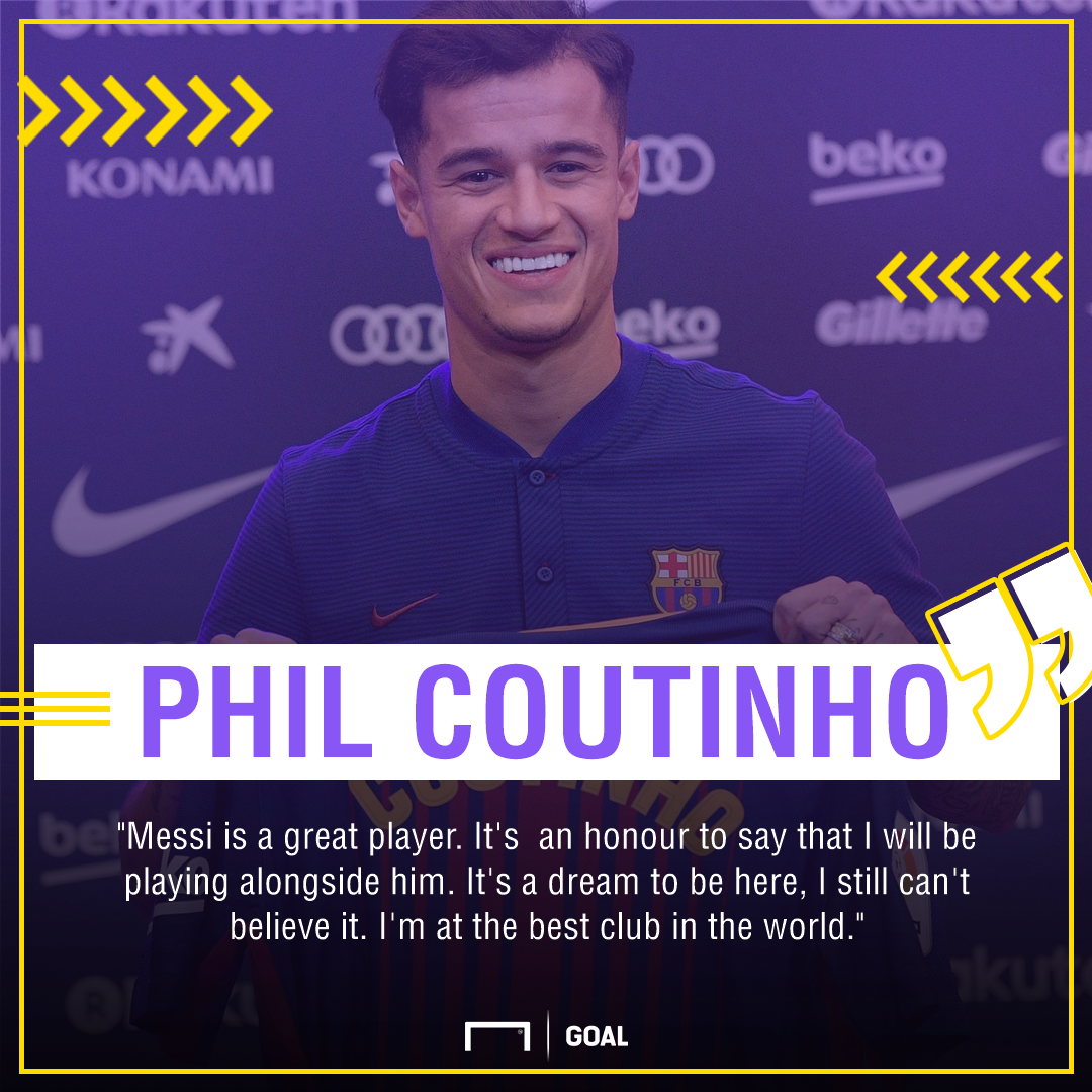 Coutinho quote