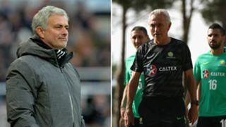 Jose Mourinho/ Bert van Marwijk