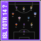 ISL 2018-19 Team of the Round 14