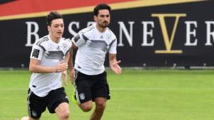 Mesut Özil Ozil Ilkay Gündogan Gundogan Deutschland Germany 30052018