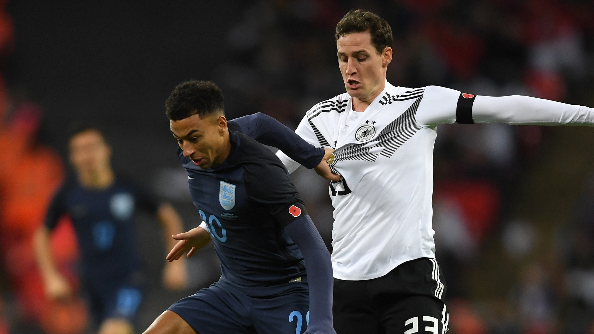 Lingard vs Germany