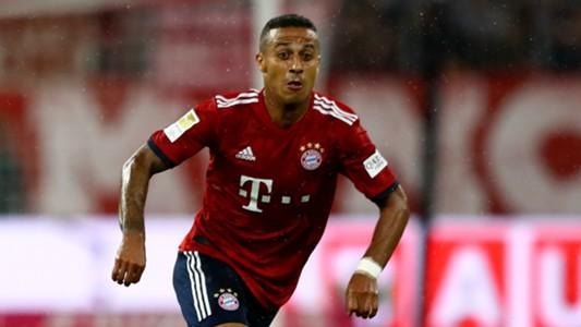 Thiago Alcantara Bayern Munich