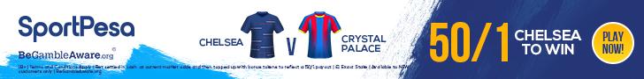 Chelsea v Crystal Palace SportPesa offer