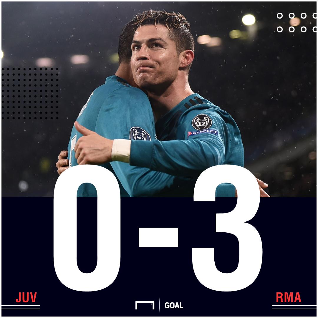 Juve Real Madrid score