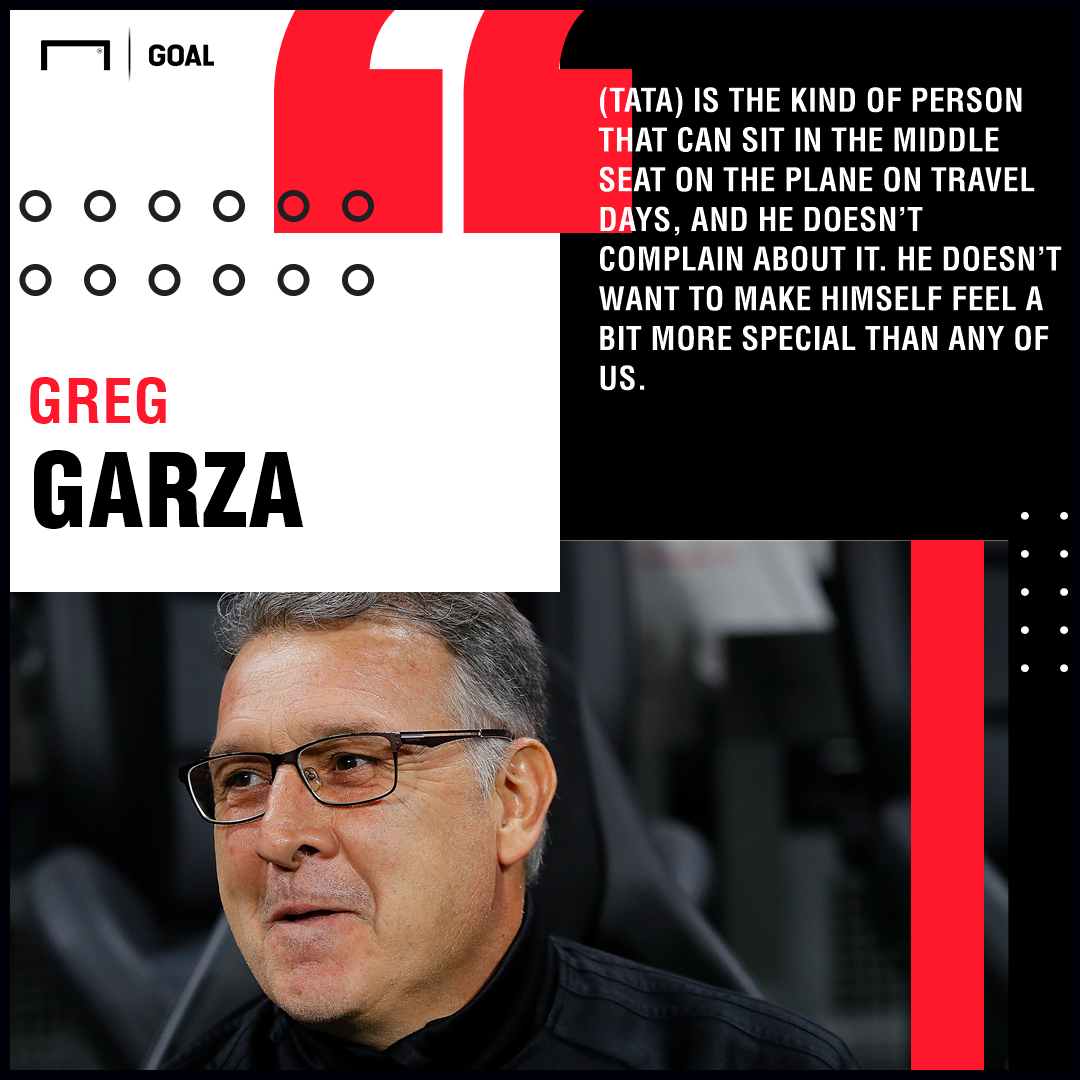 GFX Garza on Tata Martino airplane quote