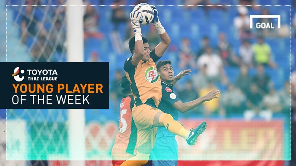 ผลการค้นหารูปภาพสำหรับ Toyota Thai League Young Player of the Week 8: ขวัญชัย สุขล้อม