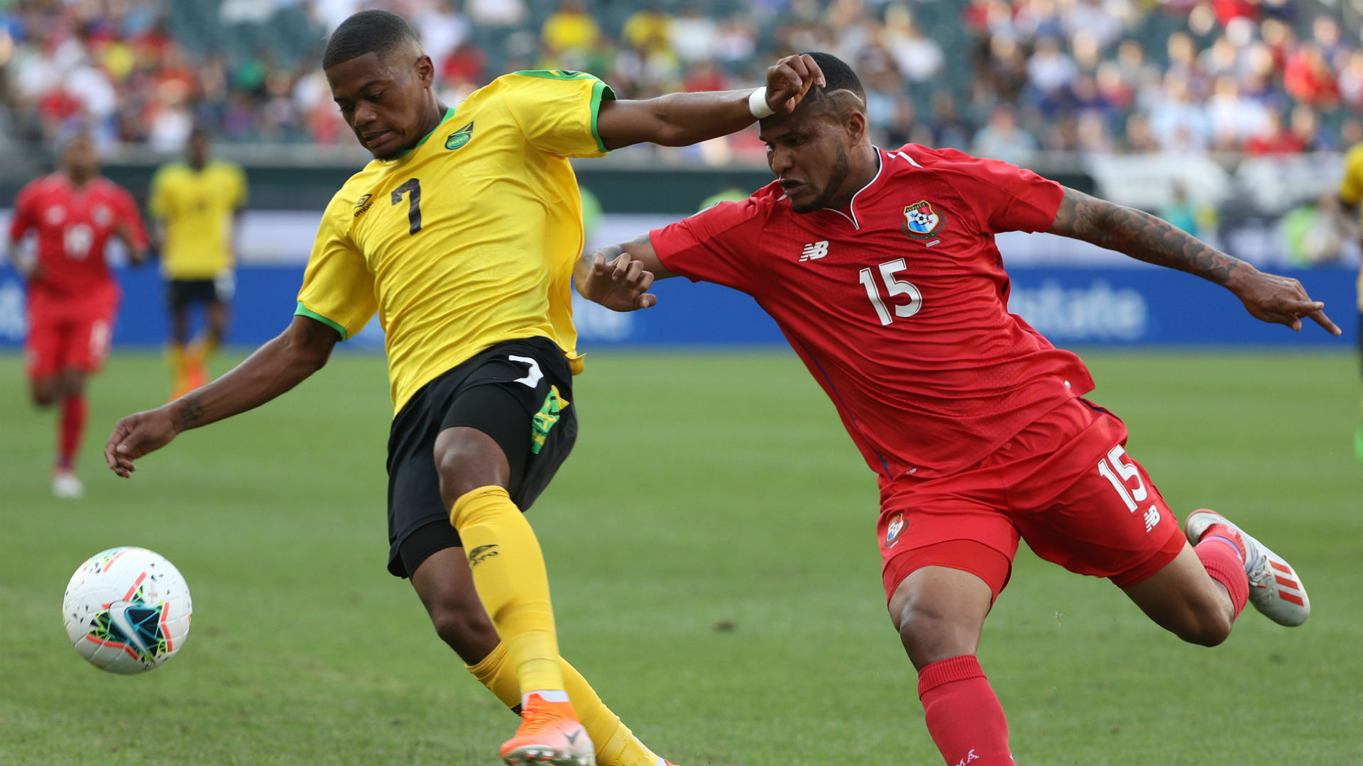 Reggae Boyz suffer Gold Cup loss to USA