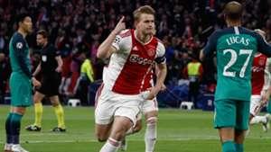 De Ligt Ajax Tottenham Champions League