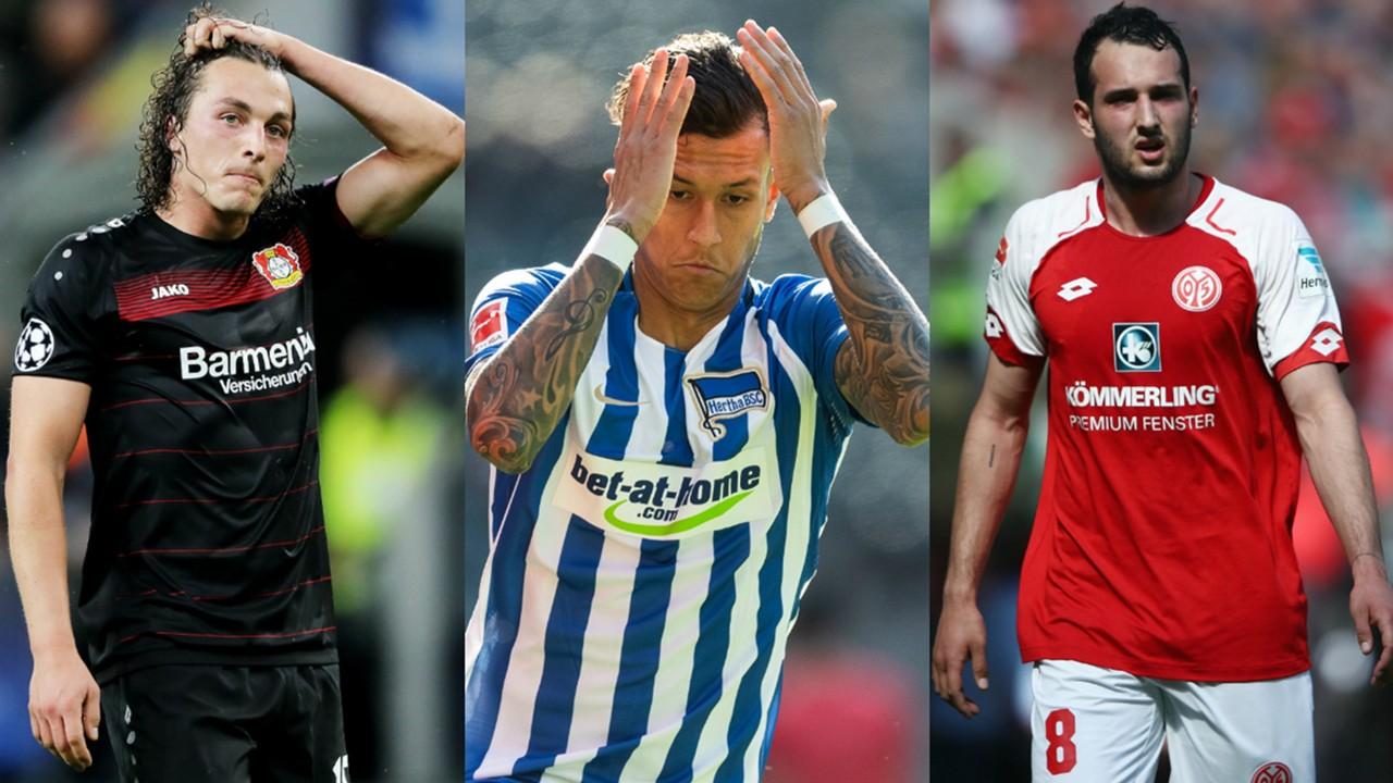 Collage Bundesliga-Verletzungen Saisonstart
