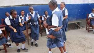 Monrovia football Academy girls