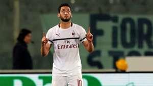 Hakan Calhanoglu Fiorentina Milan Serie A