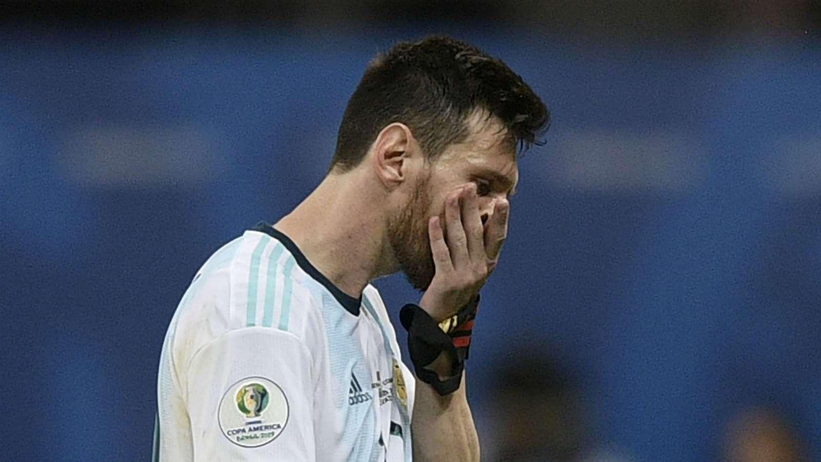 messi mo nhat argentina nhan that bai trong ngay ra quan copa america 2019