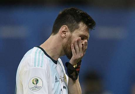 Messi powerless as anarchic Argentina fall to defeat