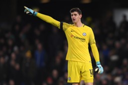 9-12 West Ham - Chelsea ratings Courtois