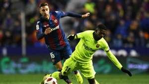 Ousmane Dembele Levante FC Barcelona Copa del Rey 10012019