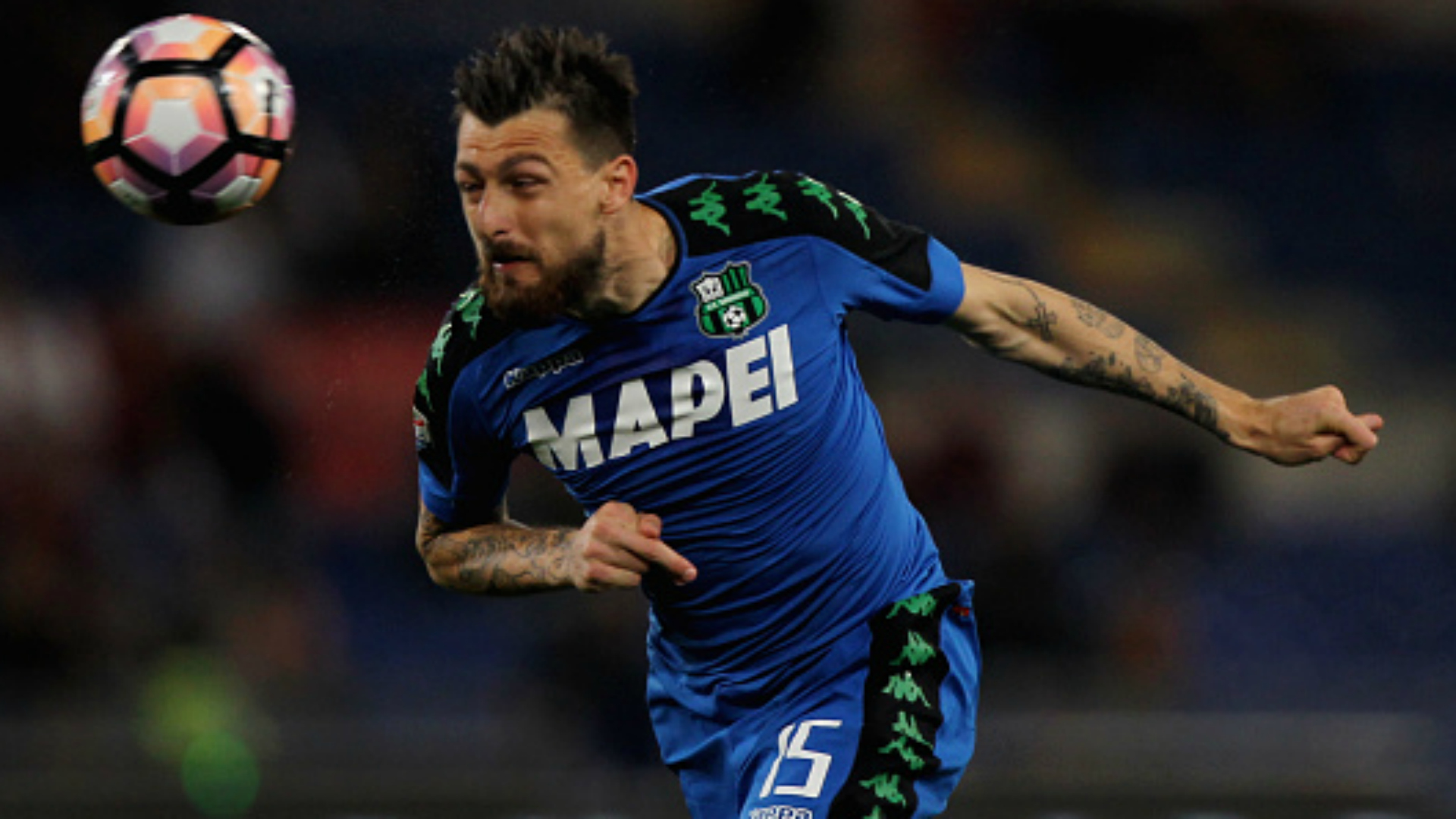 Francesco Acerbi Roma Sassuolo Serie A