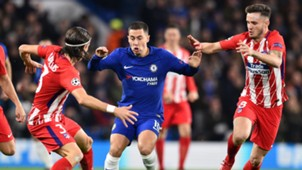 Eden Hazard, Chelsea vs Atletico Madrid