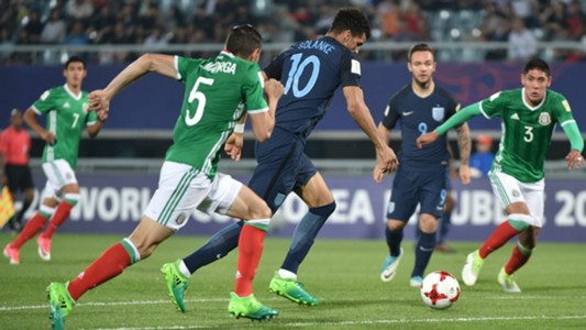 Dominic Solanke Mexico England U20