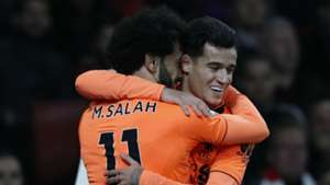 Philippe Coutinho Mohamed Salah Liverpool