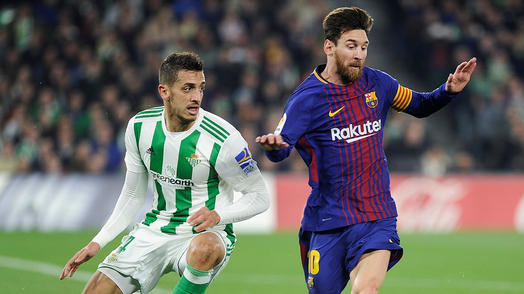 Lionel Messi Zou Betis Barcelona LaLiga 21012019