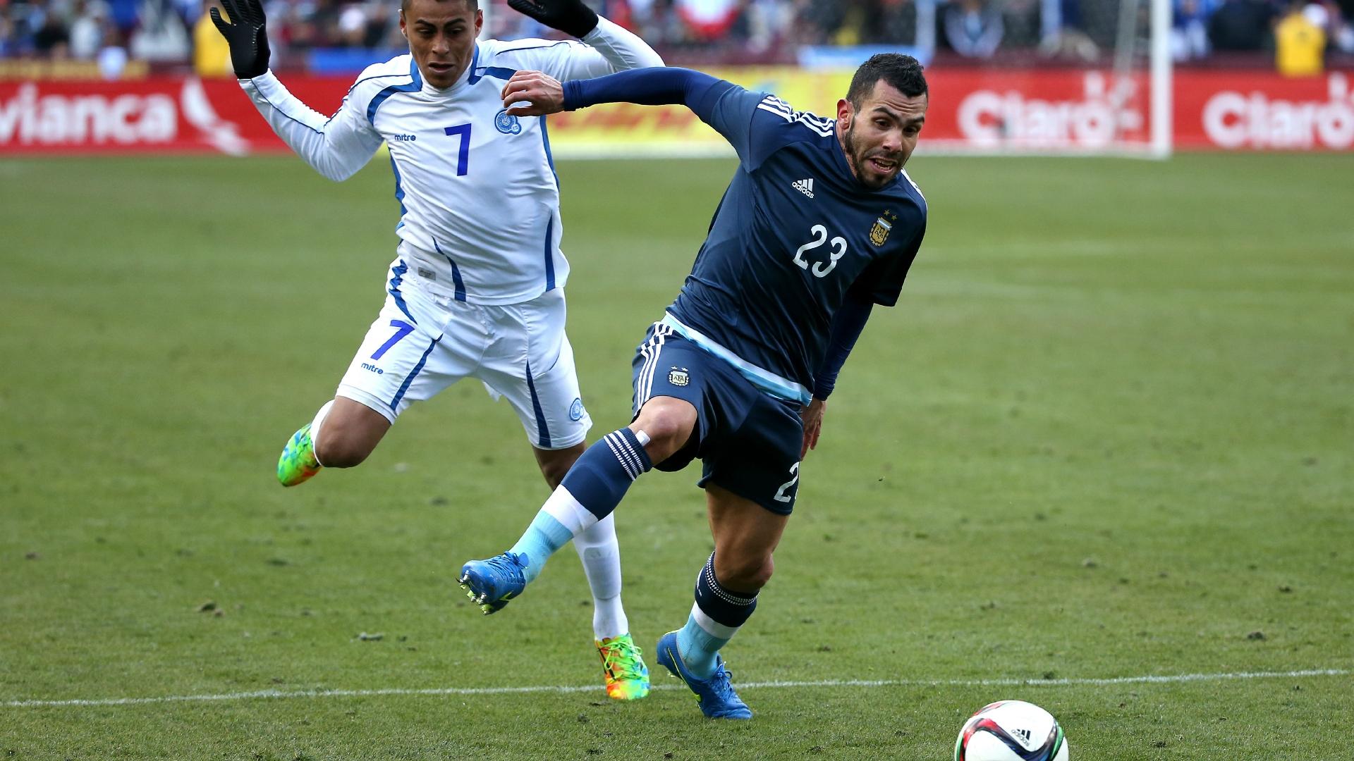 Carlos Tevez Argentina El Salvador Copa America 2015