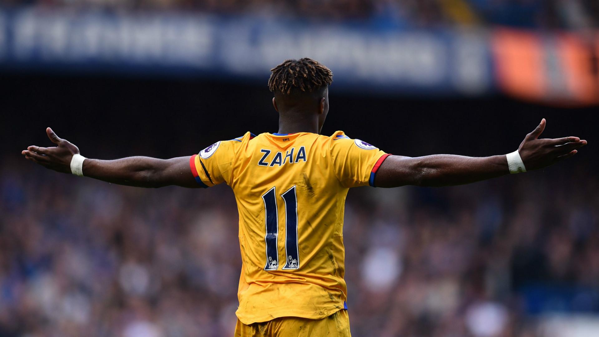 Wifried Zaha Crystal Palace Premier League