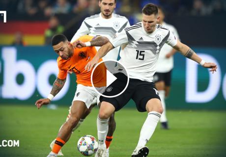 Freches Dribbling: Süle zaubert gegen Holland