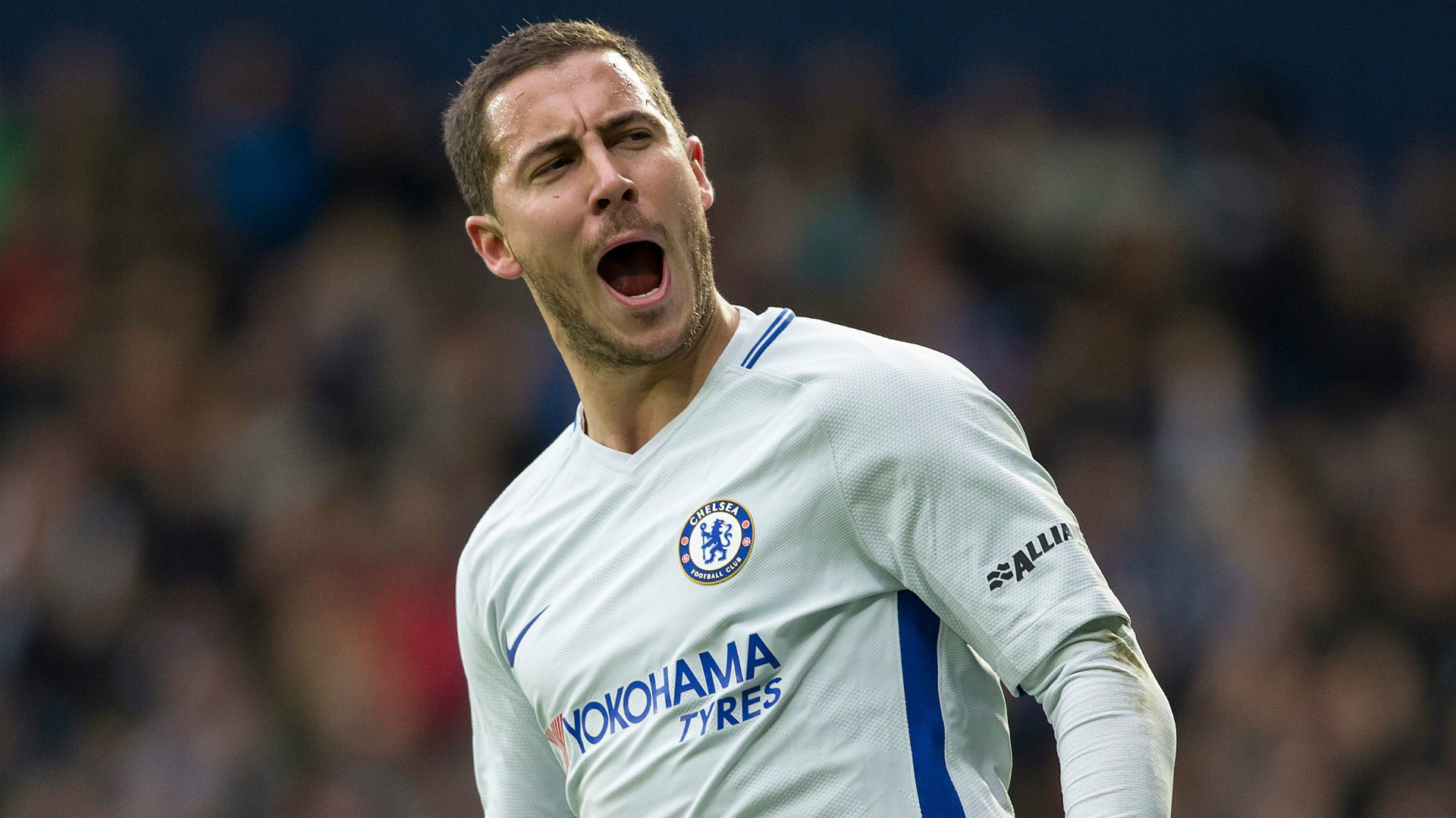 Eden Hazard Chelsea 2017