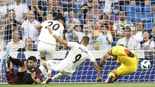 Benzema Real Madrid Milan Trofeo Bernabeu