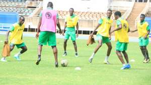 Gor Mahia players in training.