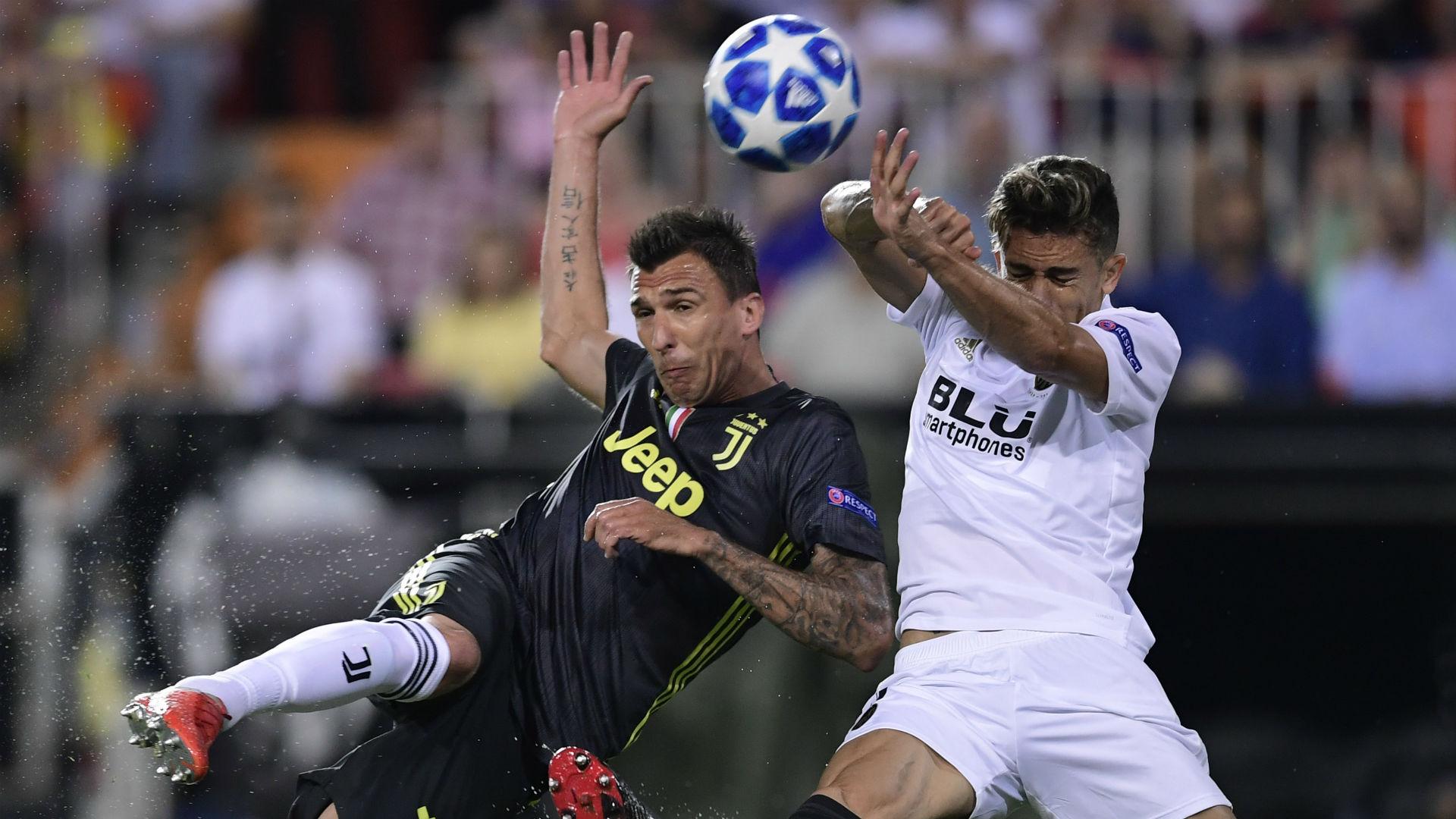 Mandzukic Valencia Juventus Champions League